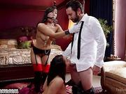 Sex slaves are ready to do anything for their master