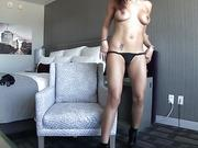 Sexy Latin starlet Luna Star gets fucked in hotel room