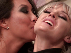 Kleio Valentien, Asa Akira - Dominance in a hotel room