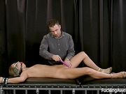 Fetish porn with rich pervert and his servant for dirty sex