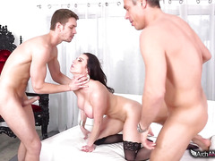 Sexy mature woman Kendra Lust's First DP