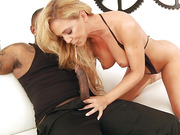 Hot sultry bitch Cherie DeVille gets assfucked by BBC