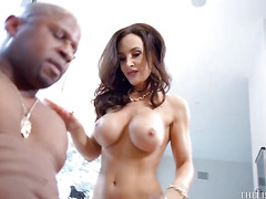 Black fucker Prince Yahshua and pornstar Lisa Ann