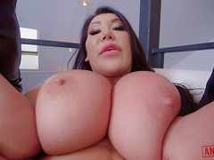Anal fuck with Russian guy and Asian MILF August Taylor