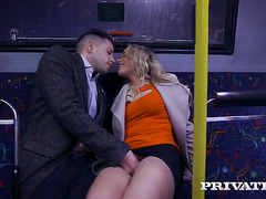 Mia Malkova - Sex on public bus and sequel to his house