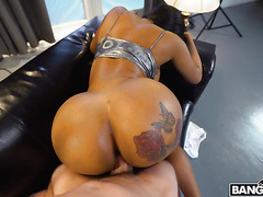Moriah Mills - My big tattooed ebony butt wants your cock