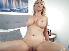 Passionate lustful slut with big tits Nikki Benz