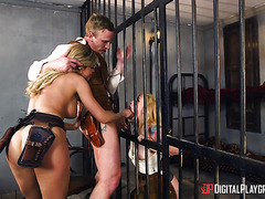Bad Dirty Cowgirls. Episode 2: Threesome in jail