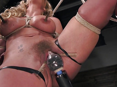 Fetish basement and hanging for busty milf Phoenix Marie