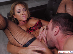 Passionate Woman Aubrey Black and Johnny Castle