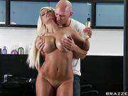 Juicy MILF Jacky Joy and her new student