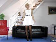 Homemade video of German Frau housewife