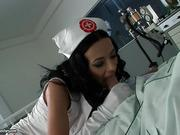 Full HD porn with hot nurse and patient