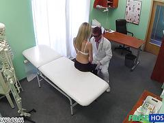 Hidden camera in the Russian hospital
