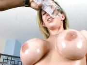 American milf with big boobs crazy squirting hardcore